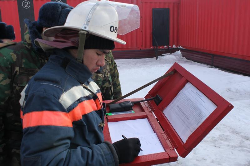 Организация деятельности газодымозащитной службы